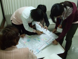 地域マップ作成中1