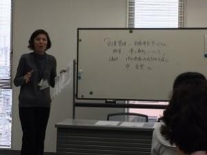 定例会の女性講師