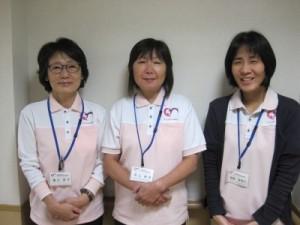 桃寿園居宅の女性ケアマネ3名