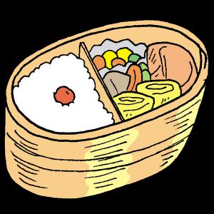 手作りのお弁当