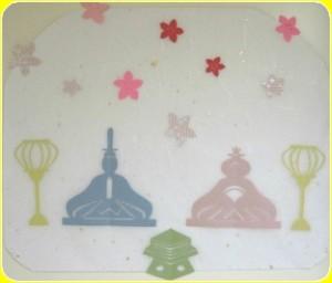 ひな祭り壁画の写真