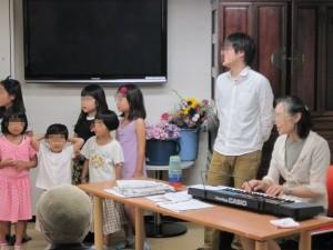 花の日訪問合唱