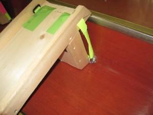 これが避難用スロープです