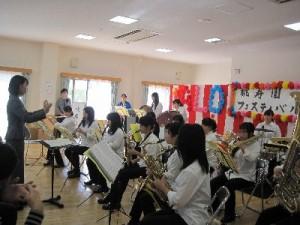 すばらしい県立伊丹西高校吹奏楽部の演奏です