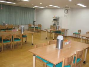 普段の食堂の様子