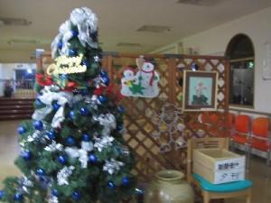 玄関のクリスマス