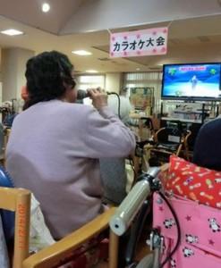 カラオケ大会①