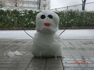 雪だるま0214