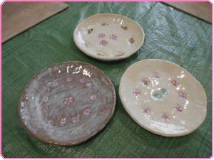 5月陶芸中皿