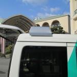 訪問入浴車(煙突)
