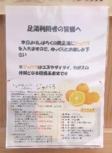 足湯(ジャバラ)150207-1