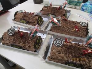 クリスマスケーキ151224-1