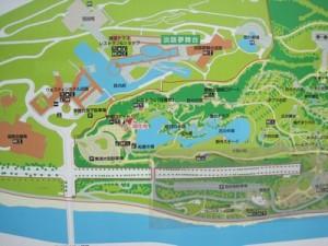 バスツアー下見 明石海峡公園の地図