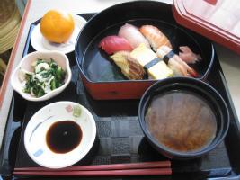 豪華寿司盛り