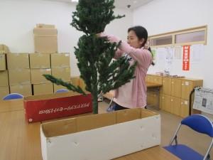 サポートテラス昆陽東 クリスマスツリー