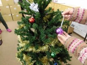 サポートテラス昆陽東クリスマスツリー1